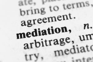 Mediation in child custody agreement modificaiton