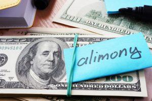 spousal support payments cash concept